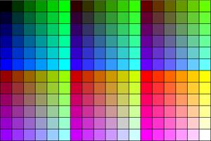 Die 216 Farben der Web-Palette