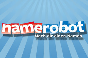 Namensfindung mit NameRobot