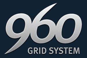 Das 960 Grid System - ein tolles Gestaltungsraster für dein Layout