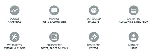 Screenshot der angekündigten Premium Addons