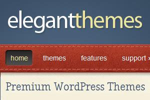 ElegantThemes bietet Premium Templates für WordPress