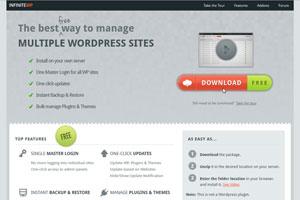 InfiniteWP - Management System für WordPress Blogs