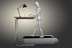 Bewegung am Arbeitsplatz fördert die Gesundheit und Kreativität