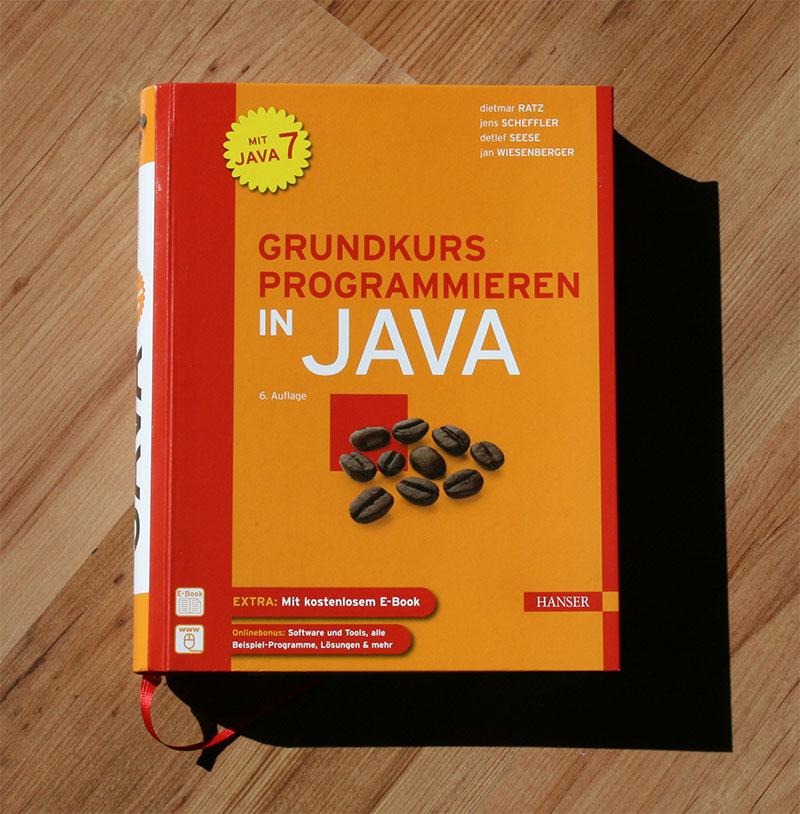 Buch: Grundkurs Programmieren in Java