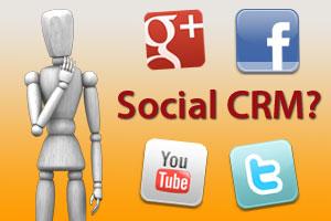 Infografik Social CRM, die nächste Stufe des Customer Relation Managements