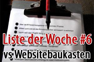 10 Gründe warum Du dich gegen ein Website-Baukasten-System entscheiden solltest
