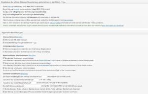 Google XML Sitemap - Screenshot
