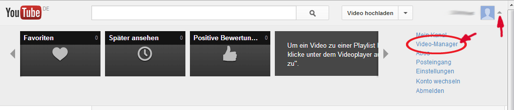 YouTube Videos monetarisieren Schritt 1