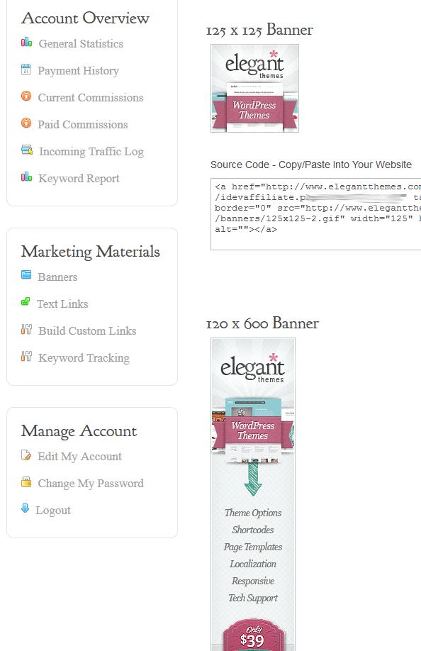 Umfangreiche Auswahl an Bannern
