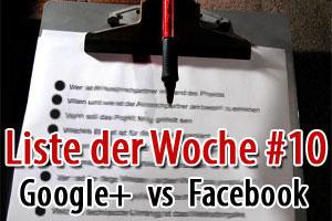 10 Gründe warum Google+ besser ist als Facebook