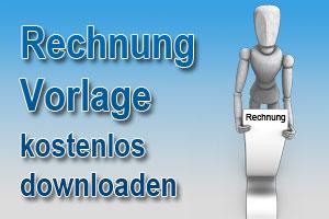 Rechnungsvorlage zum kostenlosen Download