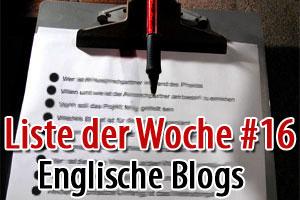 6 englische Blogs, die Du lesen solltest