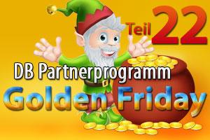Das Partnerprogramm der Deutschen Bahn im Golden Friday