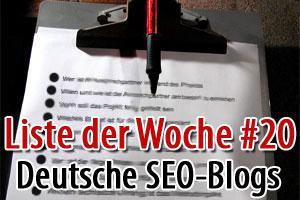 Die interessantesten deutschen SEO-Blogs Teil 1