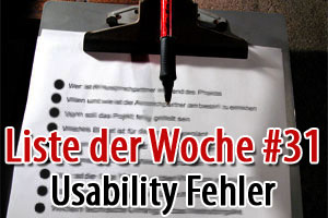 Usability Fehler - Diese Fehler solltest Du als Blogger vermeiden