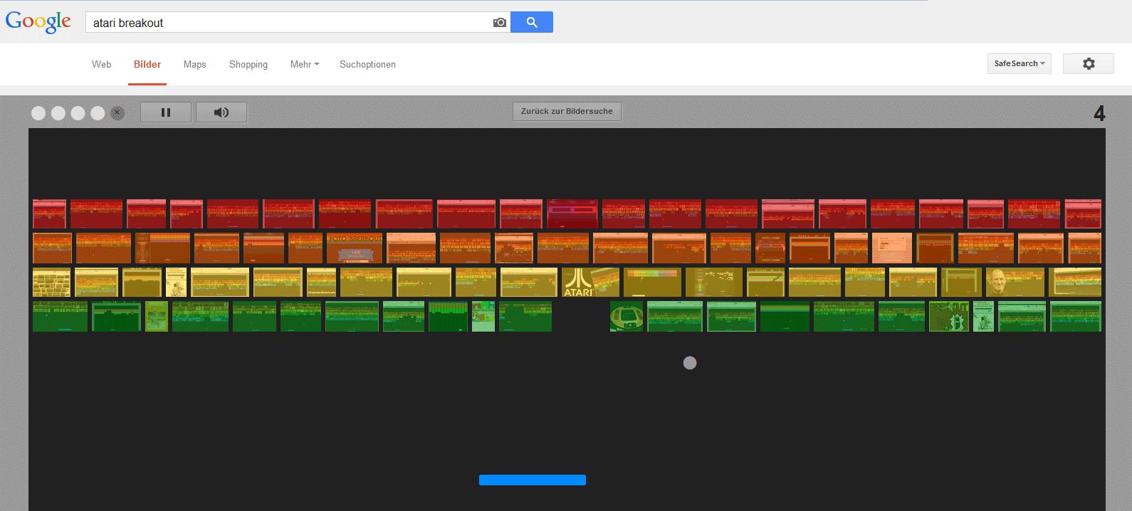 Screenshot Atari Breakout