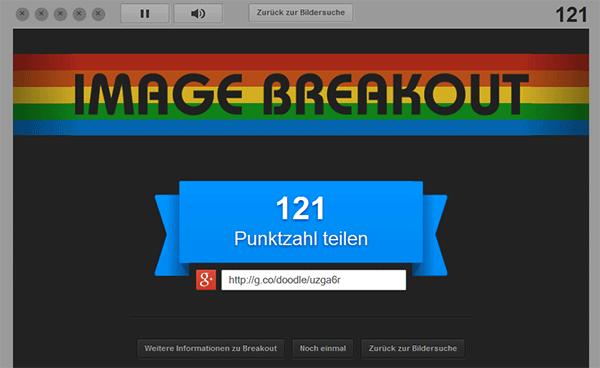 Atari Breakout Punktzahl teilen