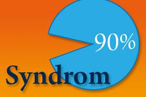 Bist Du als Blogger auch vom 90% Syndrom betroffen?