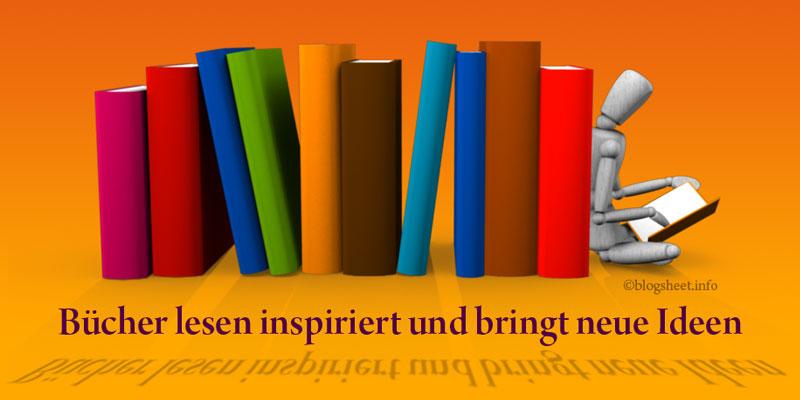 Blogger lesen Fachliteratur für ihre Inspiration