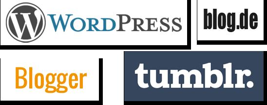 Die bekanntesten kostenlosen Blog-Hoster