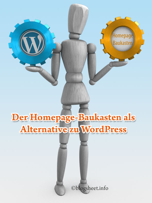 Der Homepage-Baukasten als Alternative zu WordPress