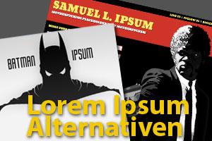 15 lustige Lorem Ipsum Alternativen für Webworker