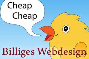 Billiges Webdesign ist für Blogger einfach zu teuer