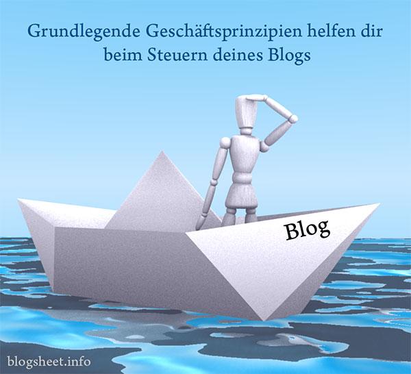 Das Boot (Blog) muss gesteuert werden