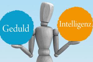 Was ist wichtiger für den Erfolg – Geduld oder Intelligenz?