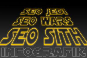 Infografik: Bist Du ein SEO-Jedi oder ein SEO-Sith?