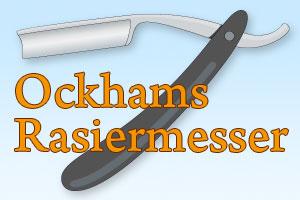 Ockhams Rasiermesser - So hilft dir das Sparsamkeitsprinzip