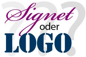 Der kleine Unterschied zwischen Logo und Signet