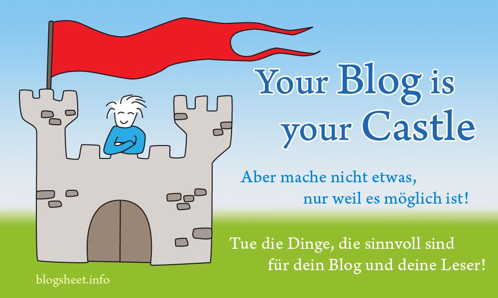 Nicht alles, was auf deinem Blog möglich ist, ist auch gut!
