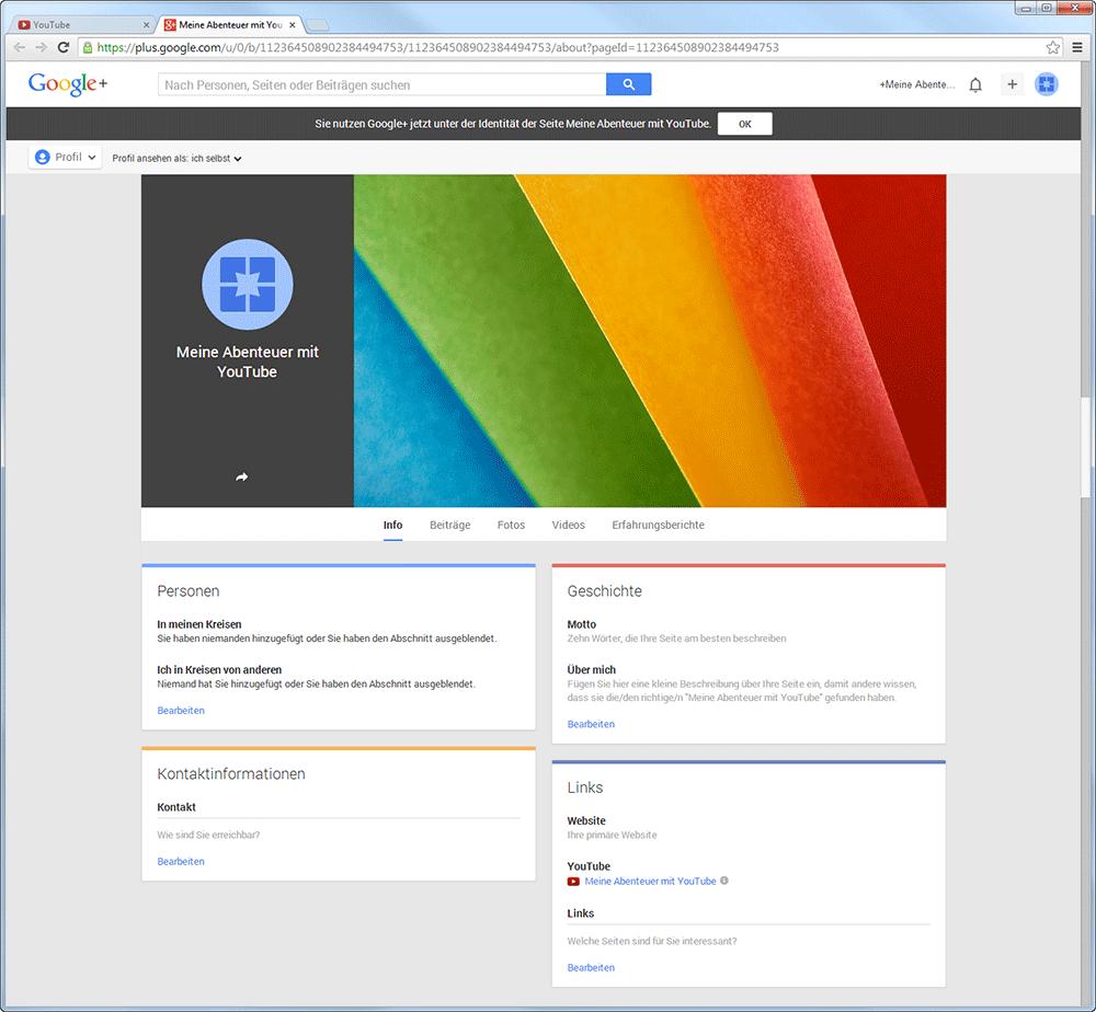 google+seite-youtube-kanal