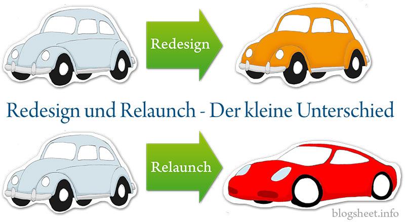 Relaunch und Redesign - Der kleine Unterschied