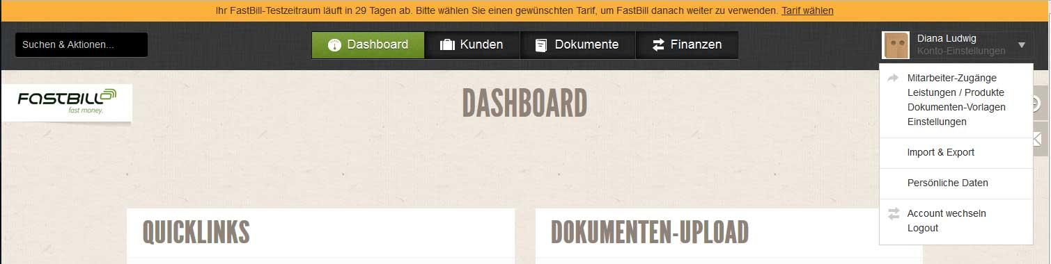 screenshot-rechnungsprogramm-fastbill-einstellungen