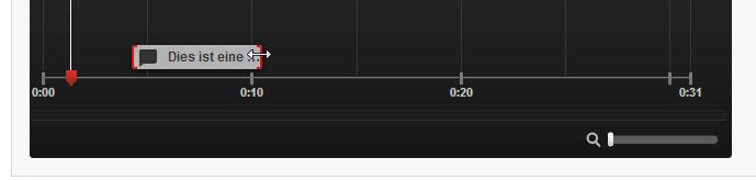 Die Dauer der Anmerkungen auf der Timeline auf YouTube anpassen
