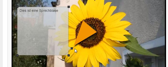 Die Sprechblase für dein YouTube Video gestalten